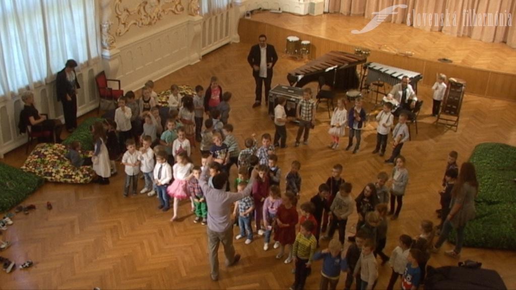 Slovenská filharmónia, cyklus HA (Hudobná akadémia), Filharmonická škôlka, záznam z 22. 4. 2016, 10.00 h., 3. minúta
