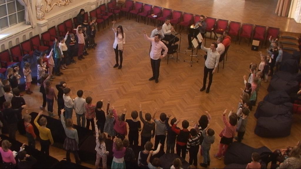 Slovenská filharmónia, cyklus HA (Hudobná akadémia), Filharmonická škôlka II, záznam z 14. 2. 2020, 10.30 h.